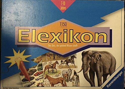 Junior Elexikon [Brettspiel, 240906]. Achtung: Nicht für Kinder unter 3 Jahren geeignet!