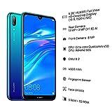 Huawei Y7 (2019) - Smartphone 32GB, 3GB RAM, Dual Sim, Aurora Blue