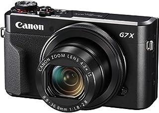 كاميرا كانون G7 X II الرقمية - بدقة 20.1 ميجابكسل، كاميرا بوينت اند شوت، اسود