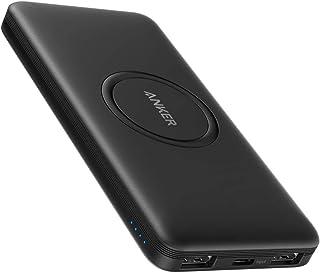 Anker PowerCore 10000mAh Wireless Powerbank med USB-C-ingång, externt batteri, hög kapacitet, kompatibel med iPhone 11, Sa...