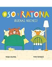 ¡Buenas noches! (Oso y Ratona. Pequeña manitas): Libro con pestañas