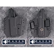 Raven Concealment Systems RCS Phantom Modular Full Shield OWB Holster, Black