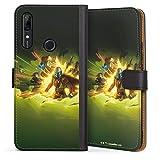 DeinDesign Étui Compatible avec Huawei P Smart Z Étui Folio Étui magnétique Star Wars The...