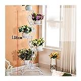 Support Plante Support de fleur de plancher de style de fer de balcon simple/support...