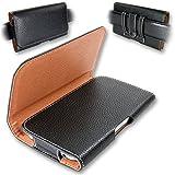 Yonix Universal Gürteltasche | Trageclip & Schlaufe | für Samsung/HTC/Huawei/LG/Motorola/OnePlus/Sony| 155 x 83 x 10 mm | Größe 3XL