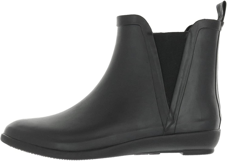 Capelli ny York Woherrar Matte Solid Jodhpur Body Rubber Rain Rain Rain Boot svart  billigare priser