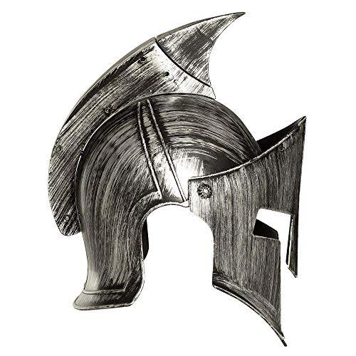 Boland 01375 - Erwachsenenhelm Ritter, Einheitsgröße, dunkelgrau