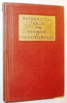 Hardcover Mathematical Table from handbook of Chemistry and Physics, Seventh Edition Book