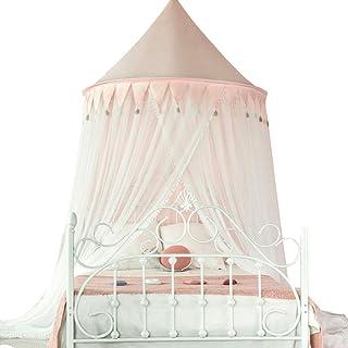 ベッドキャノピーベッドキャノピーカーテン蚊帳、フルカバレッジレースドームモスキートネット製品ベッドキャノピー、ネット、スクリーンネッティングキャノピーカーテンのための職業ロープ