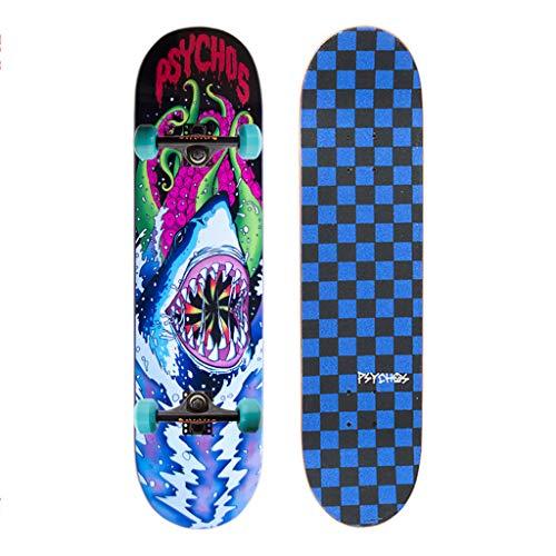 YXF-Skateboards 31 ″ Patinetas Profesionales Crucero Longboard Ruedas Competencia Patinetas para Principiantes...