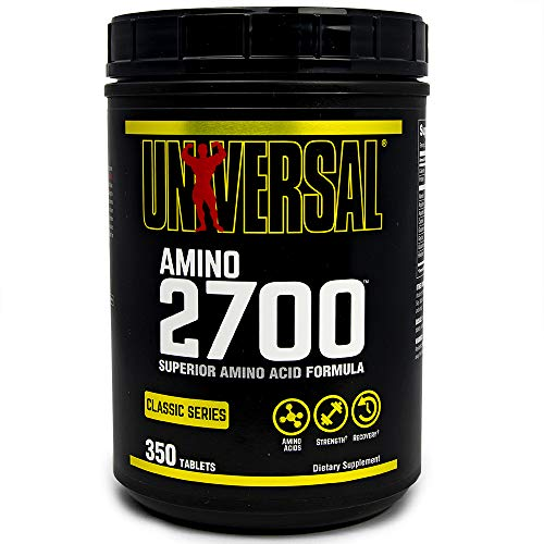 Universal Nutrition Amino 2700, 350 Tablets, 100 g