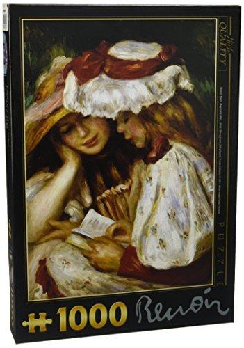 D-Toys - Pierre Auguste Renoir Jigsaw Puzzle 1000 - Due Giovane Ragazze Che leggono - DT66909-RE-02