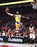 Poster, Motiv: Lebron James Los Angeles Lakers Poster,