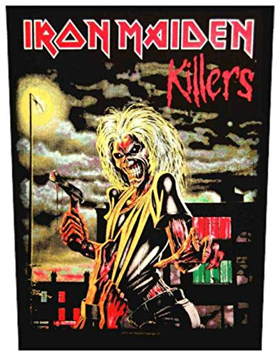 Unbekannt Iron Maiden Killers Rückenaufnäher