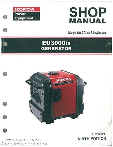 61ZT700E10 Honda EU3000IS Generator Shop Manual
