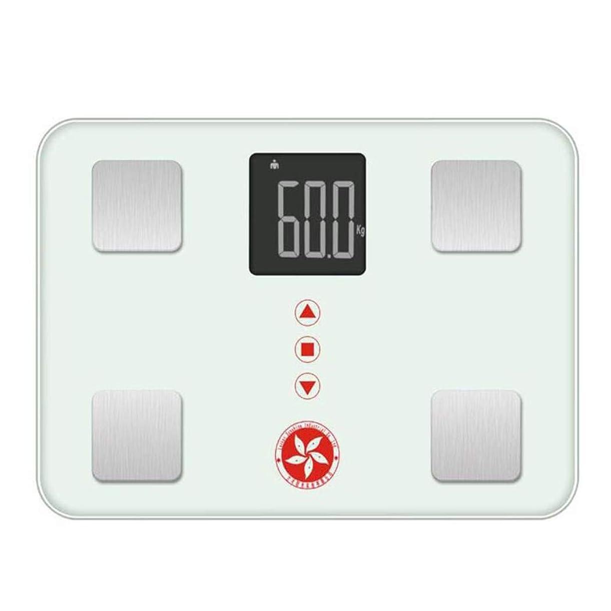 埋め込むセール三番HSBAIS ミニ体脂肪計、高精度測定 体重計 体組成計,white