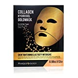 Masqueology Collagen Hydro Gel GoldMask, 12 Count
