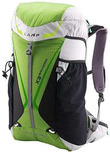CAMP Zaino X3 Backdoor, gren/White