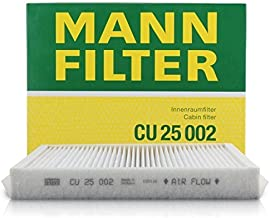 Mann-Filter CU25-002 Cabin Air Filter (Pack of 2)