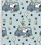 Fabrilogy Bio Jersey Snoopy und Minivan, eisblau/ab 50
