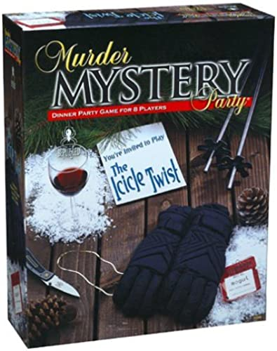 entrega rápida Murder Murder Murder Mystery Party - The Icicle Twist by University Games  precios razonables