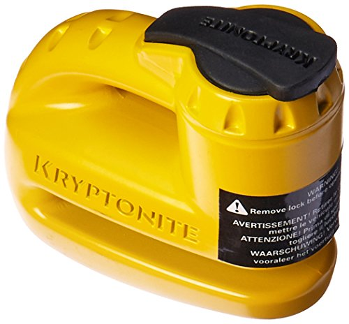 Kryptonite Keeper 5 S2 Motorbike Cycle Disc Lock with...