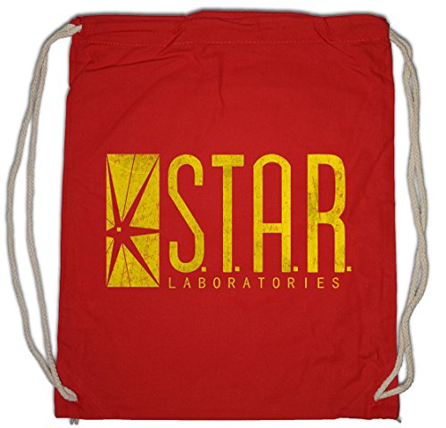Urban Backwoods S.T.A.R. Laboratories Logo Borsa da Palestra Sportiva TV rossoer Sign Serie Blitz The Flash Borsa da Palestra Sportiva