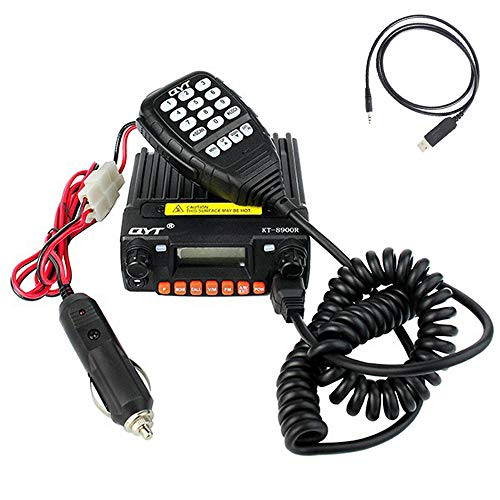 QYT KT-8900R Mobile Transceiver Radio Tri-Band VHF/UHF Mini Car Radio...
