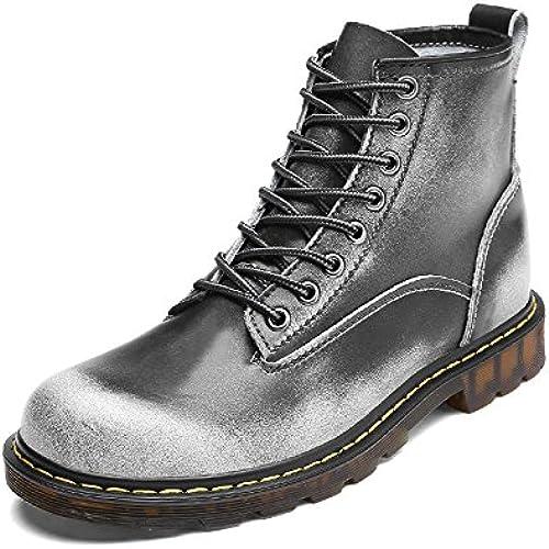 Shukun Herren Stiefel Herren Martin Stiefel Herbst Herren Martin Stiefel Herren High-Top-Schuhe Stiefel Größe Größe Herrenschuhe
