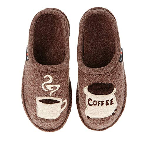 Haflinger Women's 313039 Slipper, Earth, 7 W