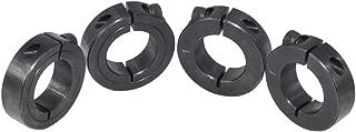 KOVPT 4Pcs Carbon Steel Single Split Shaft Collars Bore 1 inch Out Diameter 1 3/4