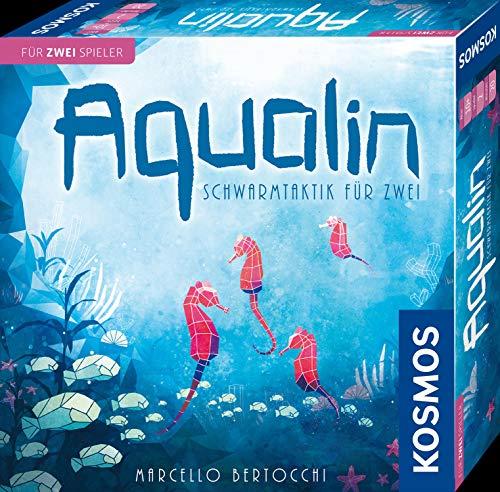 KOSMOS 691554 Aqualin - Schwarmtaktik für zwei, Brettspiel für 2 Spieler \nab 10 Jahre