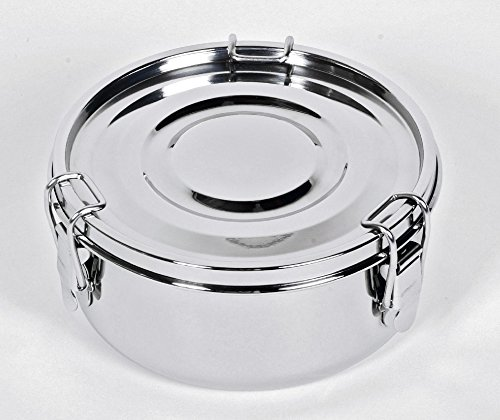 Relags Edelstahl 'Food Container' Groß Dose, Silber, 1.5 Liter