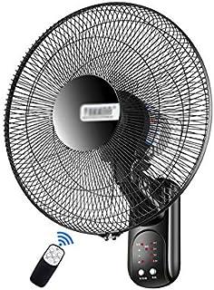 ventilador De Pared Multifuncional Electrico De Pared 3 Velocidades Control Remoto 8 Horas, Fácil De Instalar, Cable De Alimentación Extendido De 2 Metros