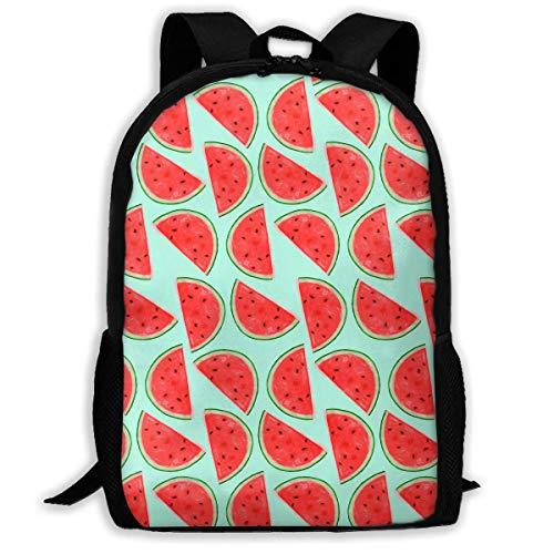 Bolsa para Laptop Adult Backpack Watermelon Daybag Backpacks Shoulder Bag College Travel Outdoor Camping Bags
