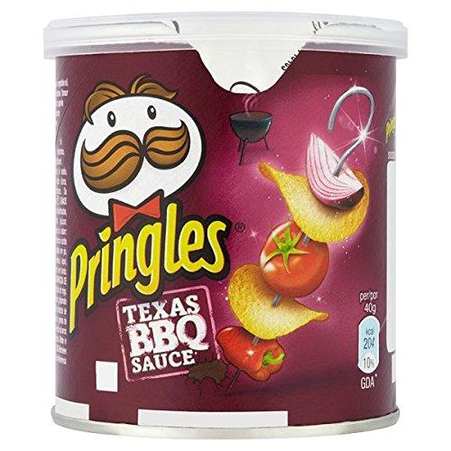 Pringles Tejas 40g salsa barbacoa (paquete de 12 x 40 g)