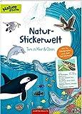 Natur-Stickerwelt: Tiere in Meer und Ozean: Mit 44 Steckbriefen und über 140 Stickern (Nature Zoom)