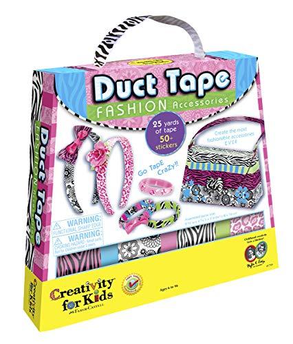 Creativity for Kids - Cfk1739 - Kit De Loisirs Créatifs - Duck Tape - Accessoires De Mode