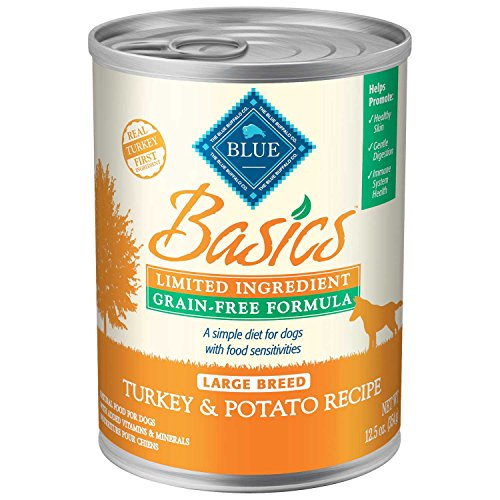Blue Buffalo Blue Basics Lid & Grain Free Large Breed Turkey Canned