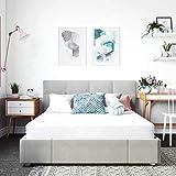 Classic Brands Cool Gel Memory Foam 6-Inch Mattress/CertiPUR-US Certified/Bed-in-a-Box, Twin XL, White
