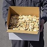 青森ひば ヒバチップ 2倍箱入り 横32.5×縦24×高さ15.5(cm) 約1.8kg 約12L 大小無選別