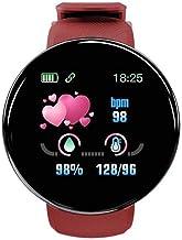 UIEMMY slim horloge de heren horloges automatische horloges Vrouwen Ronde Bluetooth Intelligente klok Waterdicht Sport Tra...