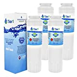 Tier1 Refrigerator Water Filter Replacement for Maytag UKF8001, EDR4RXD1, PUR, Jenn-Air, Puriclean II, 469006, 469005 - Reduces Chlorine while Improving Water Taste - 4 Pack