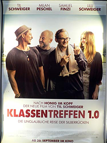 Klassentreffen 1.0 - Til Schweiger - Milan Peschel - Filmposter 120x80cm gerollt