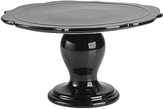 RBV Birkmann, 443747, taartplaat Avantgarde, Ø 25,5 cm, keramiek, zwart glanzend