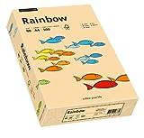 Papyrus 88042497 Drucker-/Kopierpapier, Bastelpapier Rainbow: 80 g/m², A4 500 Blatt, matt, Farbe: lachs