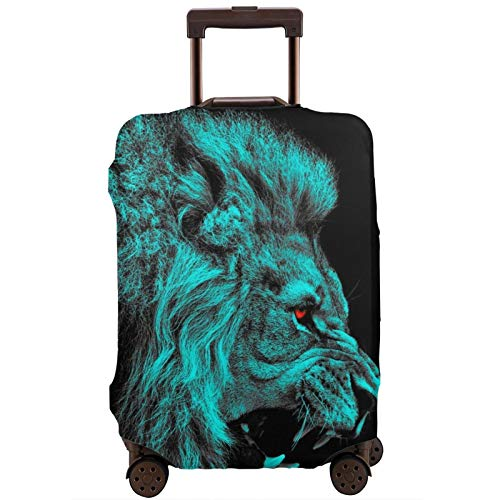 Lion Travel Suitcase Protector Scratch-Resistant Dust-Proof Stretchable and Flexible Travel Luggage Protective Cover Available in Various Sizes XL