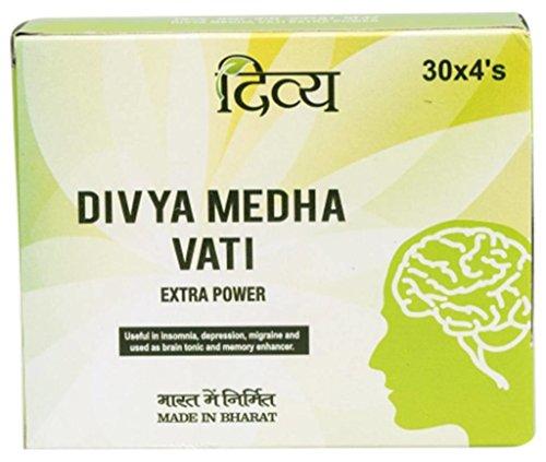 Patanjali Baba Ramdev Divya Medha VATI, Kopfmittel, extra Puder, originales reines ayurvedische Divya Patanjali