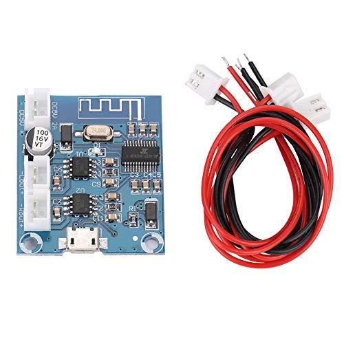 Richer-R - Modulo amplificatore Bluetooth, mini modulo Bluetooth 4.2 Circuito Stereo Speaker Modulo Digitale 5W + 5W, Uscita Dual Channel Audio Amp Board