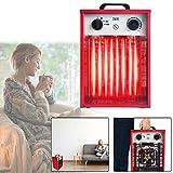 Aufun Calefactor eléctrico portátil de 3 kW, 220 V, con 3 niveles de calor, para taller, camping, garaje